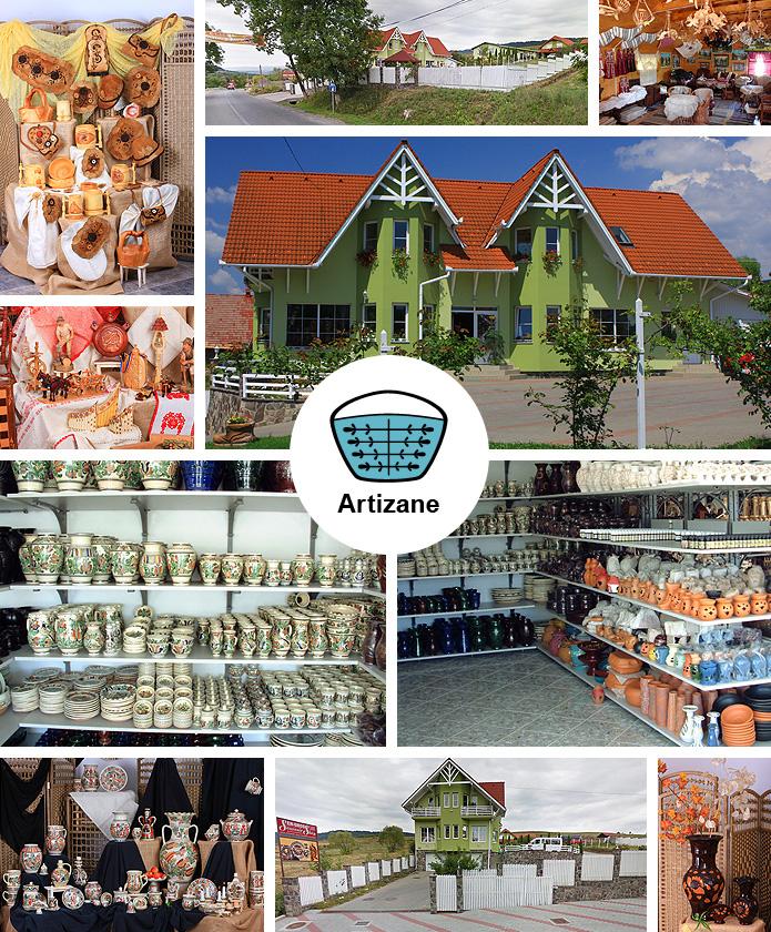 Webshopul nostru en-gros de produse artizanale și obiecte de artă populară situat în Corund, str. Principală nr. 1492